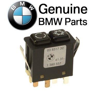 For BMW 3 Series E30 318i 318is 325e 325es 325i 325is A//C Control Switch GENUINE