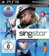 Playstation 3 SINGSTAR APRES SKI PARTY 2 * Top Zustand