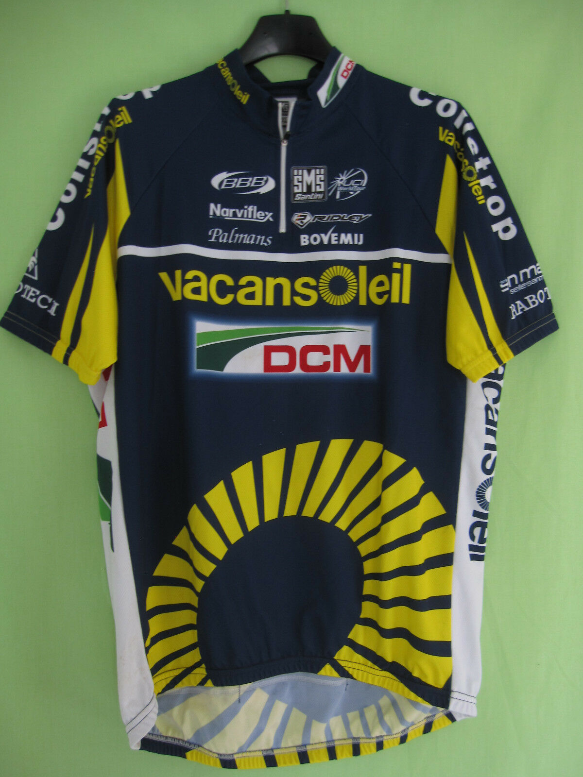 Maillot cycliste Vacansoleil DCM Pro Cycling Team 2011 Cycling Jersey - XXXL