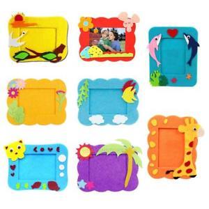 DIY-3D-EVA-Cloth-Sticker-Cartoon-Photo-Frame-Decor-Kids-Child-Craft-Toy-Kit-hv2n