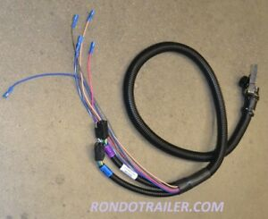 Details about HINIKER SNOW PLOW SIDE 6 FUNCTION WIRING HARNESS Update on