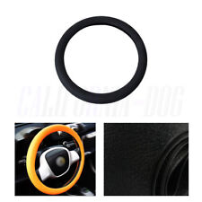 Leather Texture Soft Silicone Car Steering Wheel Cover SWT1200 10 Colors GN