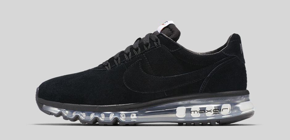 Hommes Nike Air Max LD Zero Fragment Hiroshi Fujiwara Noir 848624-001 Taille