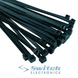 Paquete de 100 bridas de nailon para cables blanco 140 x 3,2 mm color negro