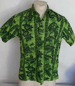 292df3c75f6 Image is loading MENS-VINTAGE-HAWAIIAN-SHIRT-SIZE-SMALL