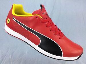 b553fb7af00a Puma EvoSpeed 1.4 SF Red   Black Driving Sneaker 305555 01 Men s ...