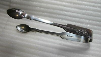 Sterling Silver Sugar Tongs by Mappin Brothers 1899 London