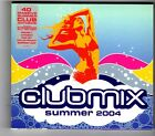 (HK370) Clubmix Summer 2004, 40 tracks various artists - 2004 double CD