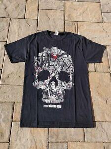 Skull Walking Dead Mens T-Shirt