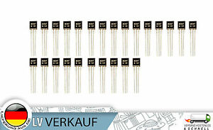 25Stueck-BC547-TO-92-NPN-45V-0-1A-Transistor-fuer-Arduino-Raspberry-Pi-Prototyping