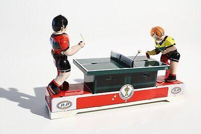 Sonstige Spielzeug Blechspielzeug Tischtennisspiel °° Tin Toy °° Jouet En Tôle °° Diszipliniert