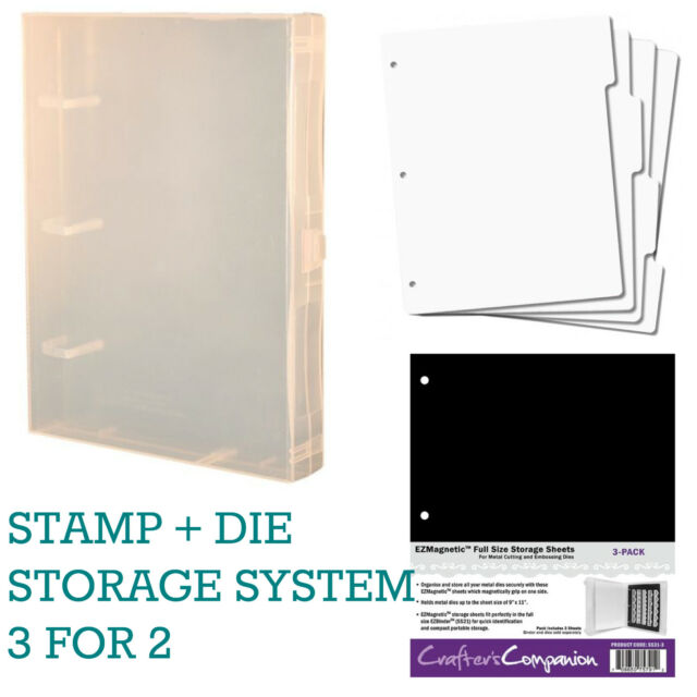 Heartfelt Creations Unmounted Cling Stamp Storage Panel
