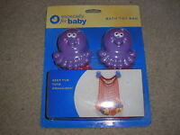 Especially For Baby Bath Toy Bag Octopus