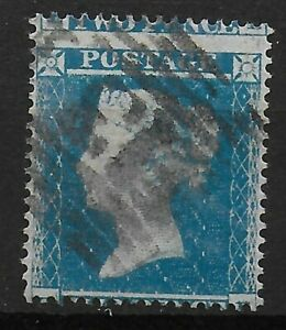 SG20-20a-2d-Pale-Blue-Wmk-SCp16-Plate4-5-MIS-PERFED-Good-Fine-Used-Ref-0832