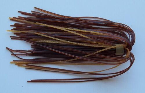 -Bass Fishing-NEW 25 Custom Silicone Spinnerbait//Buzzbait//Jig Skirts- Mudpuppy