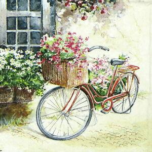 image is loading 4x paper napkins for decoupage craft vintage flower
