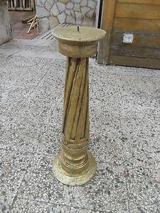 Porta-candela-Barocco-meta-800-in-legno-massello-e-foglia-oro