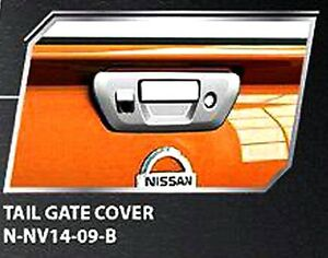 Chrome Tailgate Handle Bowl Cover Camera For New Nissan