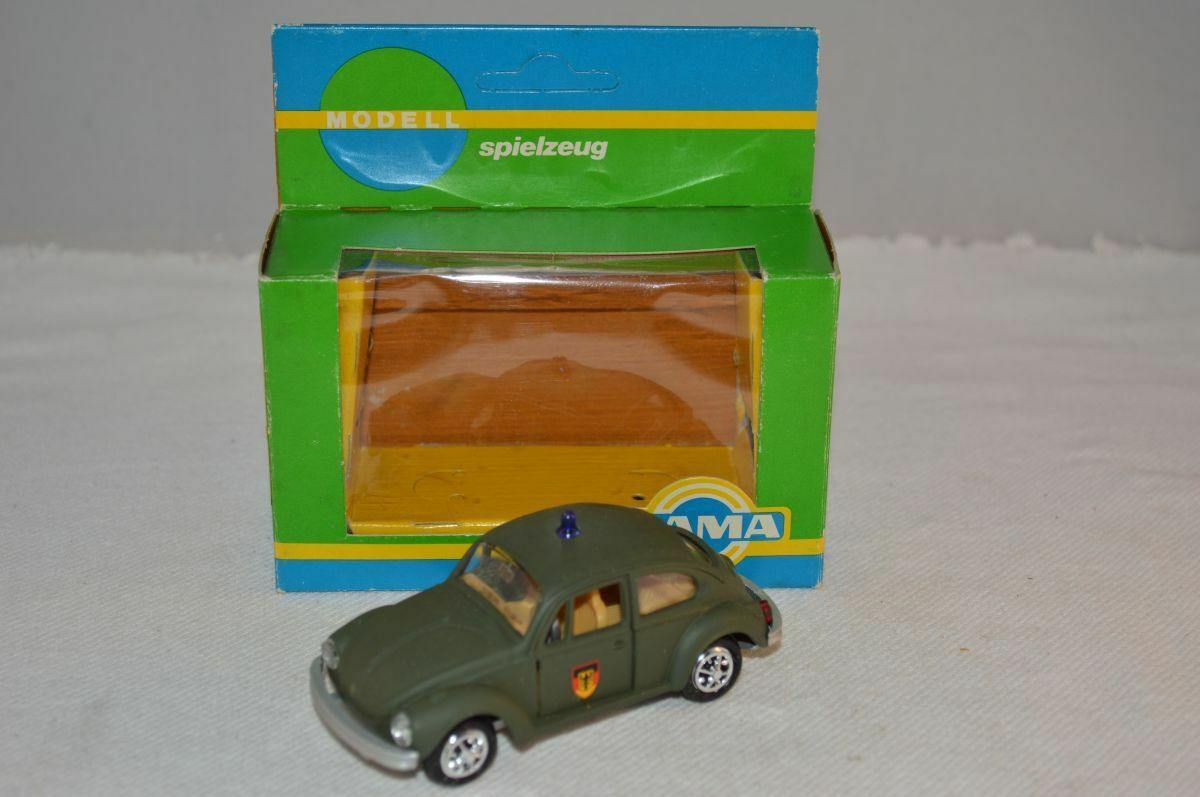 Gama 833 vw - käfer 1302 polizei grünen vw kafer 1 43 minze im kasten