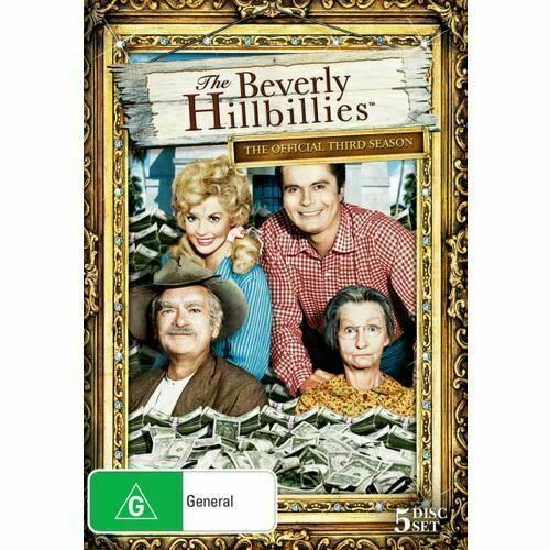 The Beverly Hillbillies : Season 3 (DVD, 2019, 5-Disc Set) - Region 4