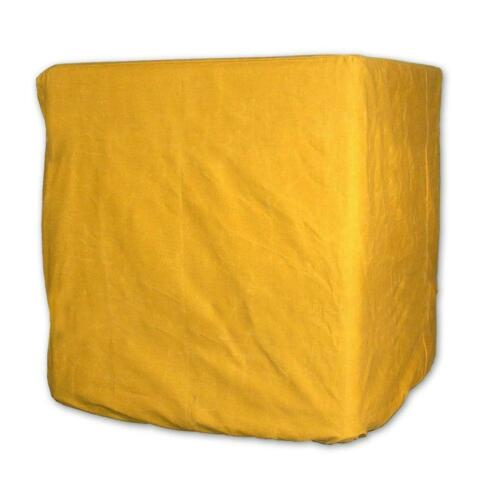 Evaporative Cooler Down Discharge Cover 49/'/' Heavy-Duty Canvas Outdoor Yellow