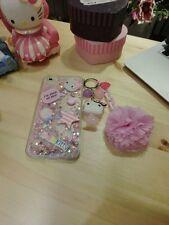 iPhone 6/6 Plus CASE, Hello Kitty Clear Hard CASE, Flash Light, Liquid CASE
