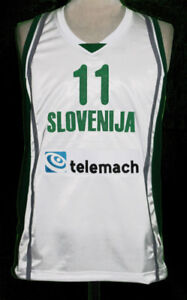 Image is loading GORAN-DRAGIC-SLOVENIA-BASKETBALL-JERSEY-SLOVENIJA-SEWN-NEW- 85fb2b0ea