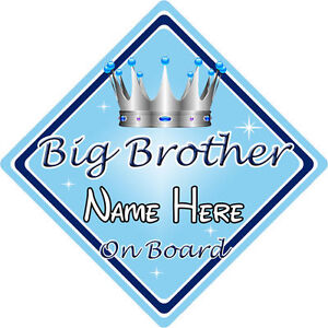 Disney Brave Personalised Baby On Board Car Sign 1