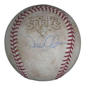 Derek Jeter Signed 2009 World Series Game 1 Game Used Baseball Steiner COA