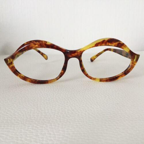 Vintage 70´s Haute Couture Glasses Design Lunettes Pierre CARDIN CAT EYE
