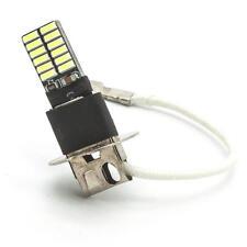 2x H3 LED PK22S 24SMD 4014 White Lights Fog Driving Drl lamp Light bulbs DC 12V