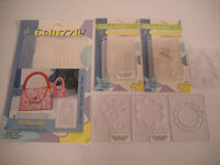 Lot Of 9 Provo Craft Coluzzle Dies, Some In Package