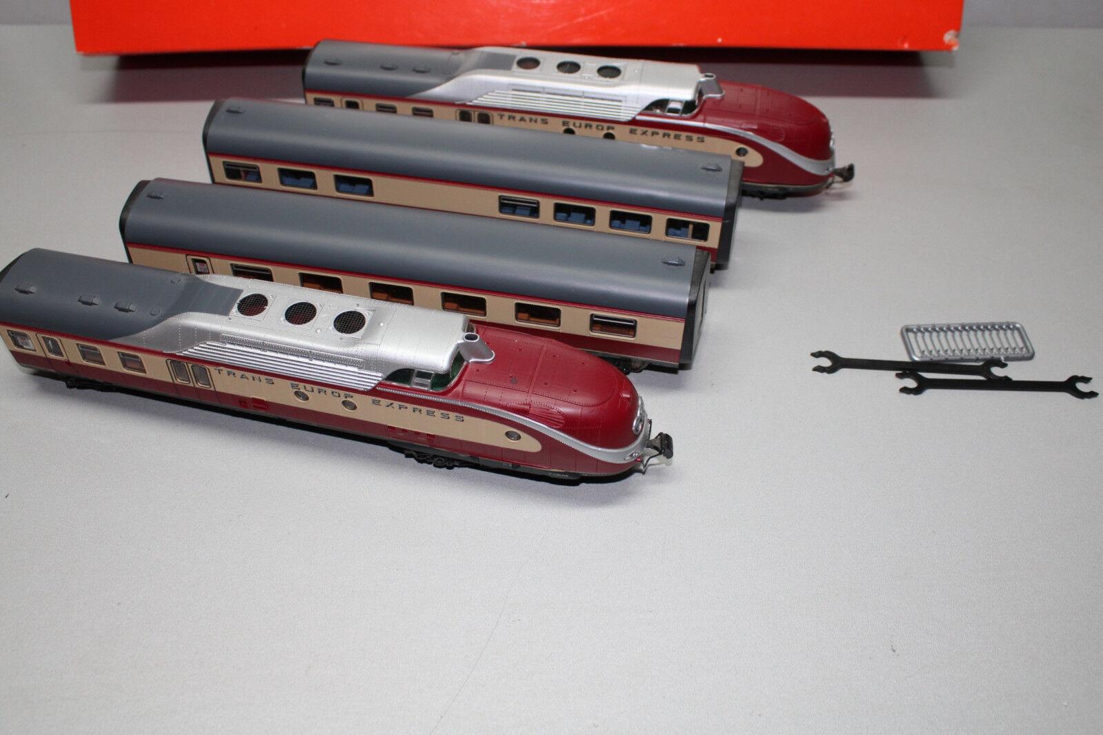 für ROCO Dieseltriebzug VT 11.5 Spur N Ersatz-Drehgestellblende 2 z.B NEU