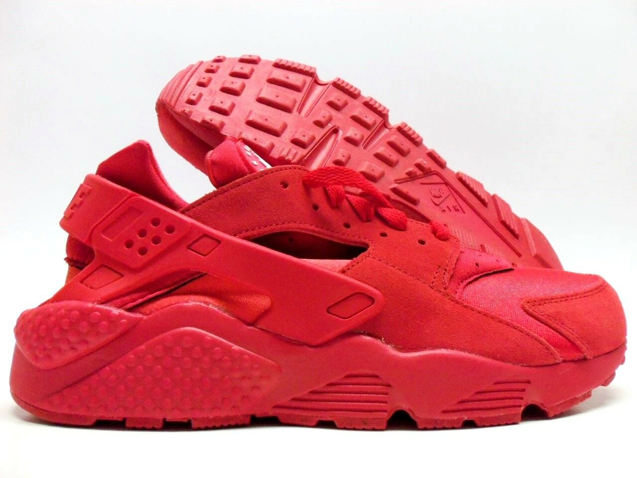 NIKE AIR HUARACHE RUN ID RED OCTOBER UNIVERSITY RED SIZE MEN'S 9 [777330-997]