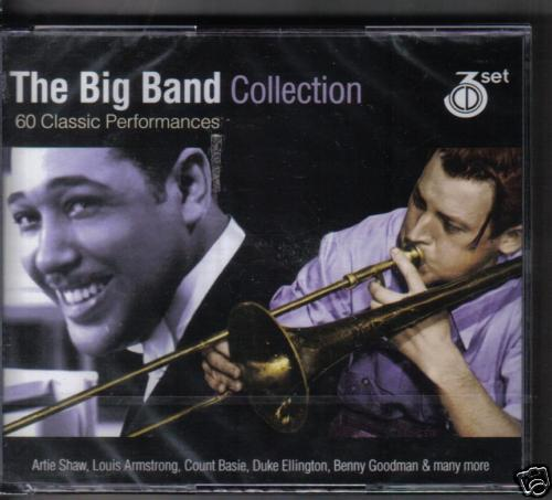 THE BIG BAND COLLECTION - VARIOUS on 3 CD'S -  NEW -