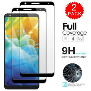 For-LG-Stylo-5-Plus-Caseswill-FULL-COVER-Tempered-Glass-Film-Screen-Protector