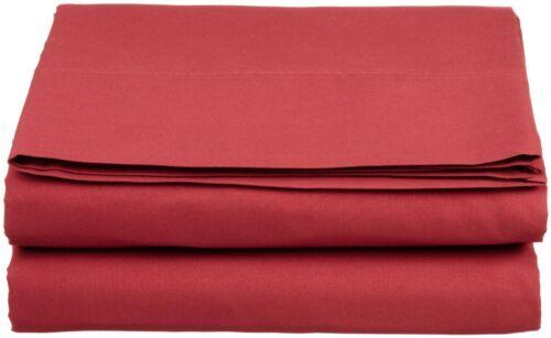 1500 Count Deep Pocket 4 Piece Bed Sheet Set Clara Clark Burgundy King Size