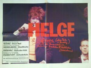 HELGE-SCHNEIDER-1993-TOUR-orig-Concert-Poster-Konzert-Plakat-A1-TOP-341