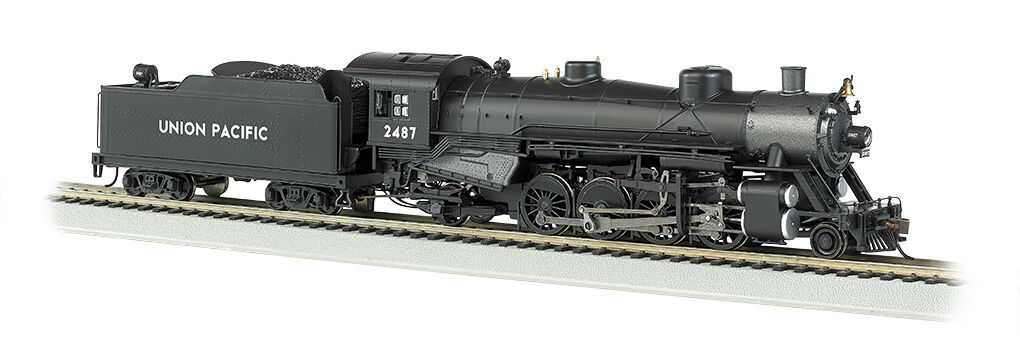 Bachmann 54301 HO Scale Light 2-8-2 w Med. Tender - DCC Sound Union Pacific