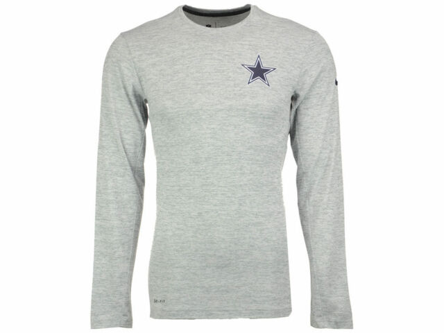 6f85d5b8 New Dallas Cowboys Nike NFL Football Dri-Fit Touch On Field Shirt Long  Sleeve