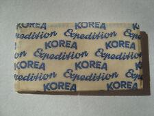 KOREA EXPEDITION VERY RARE OLD RAZOR BLADE WRAPPER/ LAMETTA / RASIERKLINGE/ LAM
