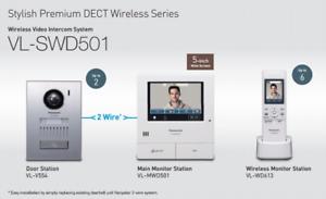 Premium Panasonic Wireless Video Intercom System Vl