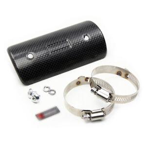 Universal-exhaust-muffler-pipe-garde-bouclier-thermique-en-fibre-de-carbone-Housse-pour-Honda-CB
