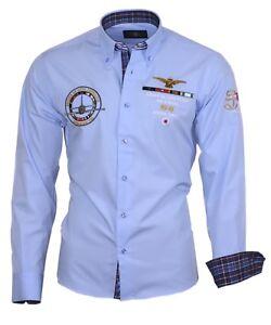 Chemise-decontracte-homme-chemise-shirt-brode-broderie-82106-bleu-Binder-de-LUXE