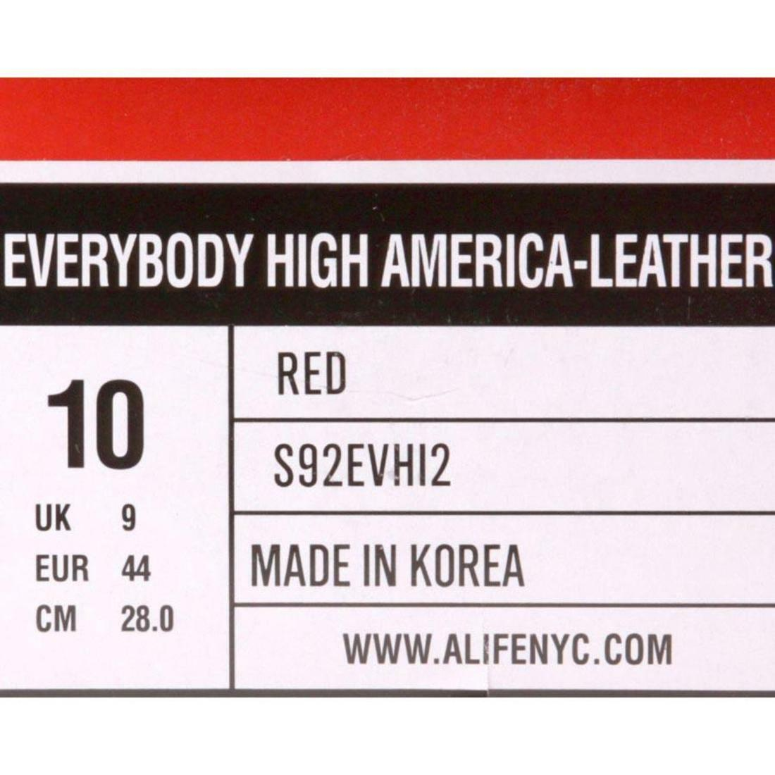 $119.99 ALIFE - Everybody High America - ALIFE Leather (red) S92EVHI2 57055f