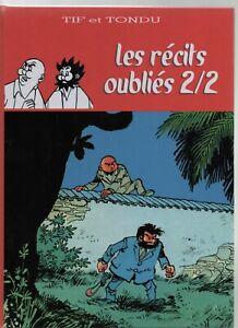Tif-et-Tondu-Les-recits-oublies-Tome-2-2-HORS-COMMERCE-38-pages-coul-2017