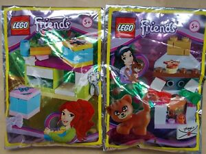 Lego Friends Christmas Sets.Details About 2 New Lego Friends Christmas Foil Packs Mini Sets Poly Bag Pick The 1 You Want