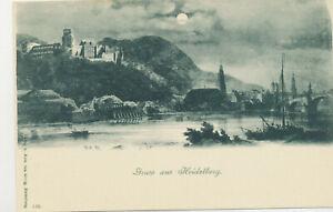 Ak-Gruss-aus-Heidelberg-Mondschein-unbenutzte-Karte-ca-1910