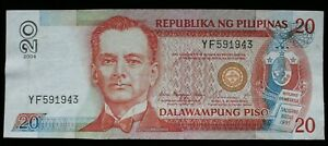 Banknote Philippines 20 Piso 2004