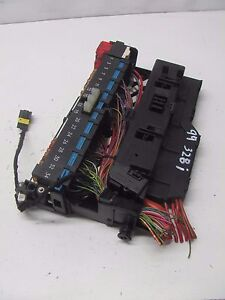 km607110 99 00 bmw 328i e46 fuse box junction power relay. Black Bedroom Furniture Sets. Home Design Ideas